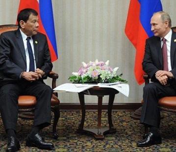 菲总统:菲律宾需要现代化武器 将寻求俄方帮助