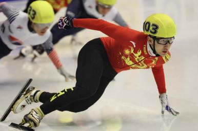쇼트트랙--우다징, 남자 500미터 금메달