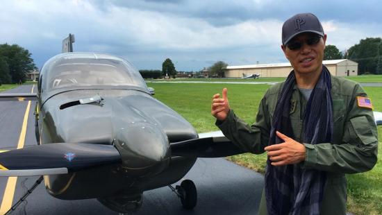 Американский инженер китайского происхождения успешно испытал самолет собственного производства