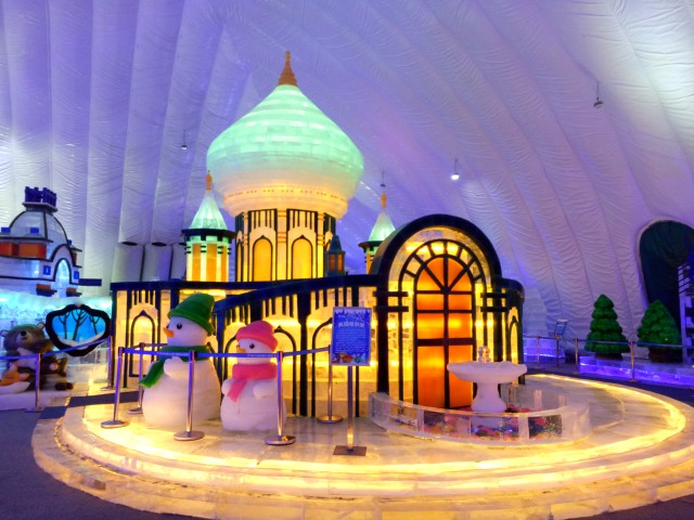 """首页 即时消息  2018年度哈尔滨冰雪大世界""""室内冰雪主题乐园""""运营图片"""