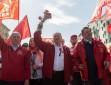 В Москве прошла первомайская демонстрация