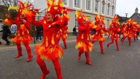 В Мальмеди открылся карнавал