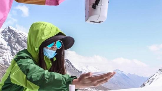 Полевые исследования тела ледника №1 в горах Тянь-Шань