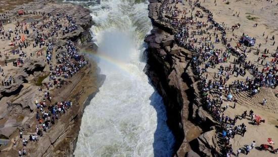 В Китае за время первомайских выходных был отмечен туристический бум