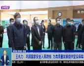 王兆力:巩固国家安全人民防线 为高质量发展提供坚实保障