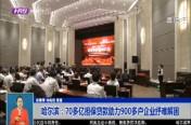 哈尔滨:70多亿担保贷款助力900多户企业纾难解困