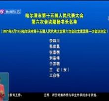 哈尔滨市第十五届人民代表大会第六次会议副秘书长名单
