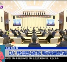 王兆力:学党史悟思想办实事开新局  用振兴发展成果检验学习教育成效