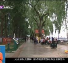 端午节期间沿江公园延长开放服务时间
