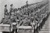 抗美援朝原创作品《永远的丰碑》在哈尔滨学院展出